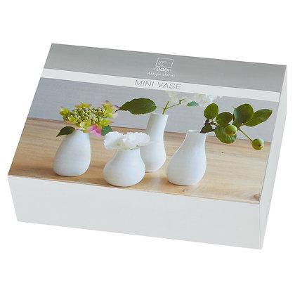 Rader set 4 mini vases