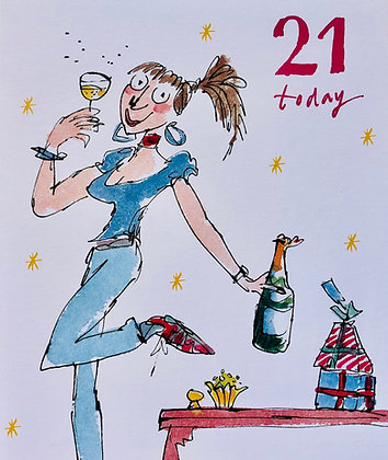 WOODMANSTERNE Quentin Blake 21 Today