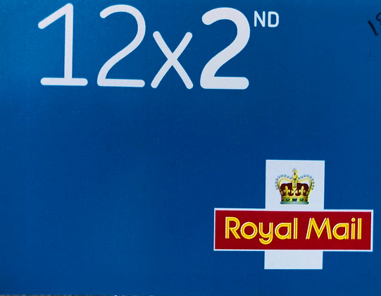 Royal Mail 2nd Class Stamps