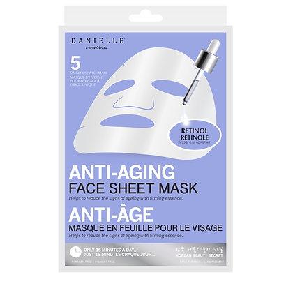 DANIELLE Anti-Ageing Face Sheet Mask