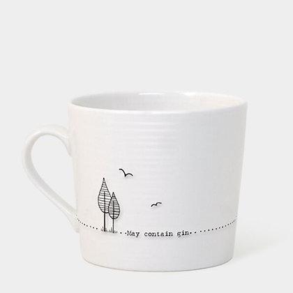 May Contain Gin Porcelain Mug