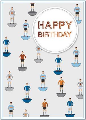 SECOND NATURE Subbuteo Happy Birthday