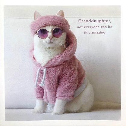 UK GREETINGS - Granddaughter