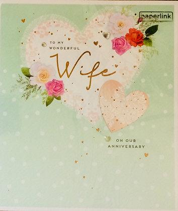 PAPERLINK To My  Wonderful Wife