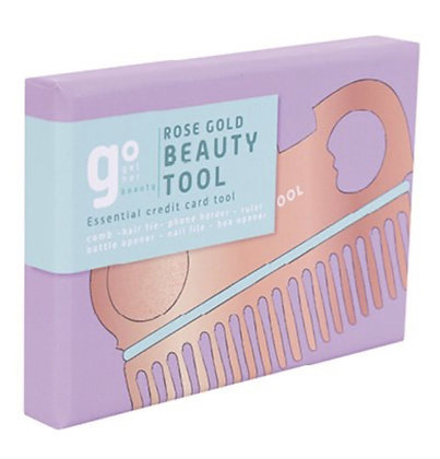 Rose gold beauty tool