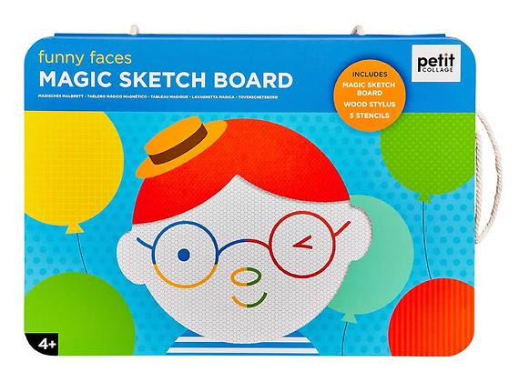 Magic SketchandStencil - Funny Faces