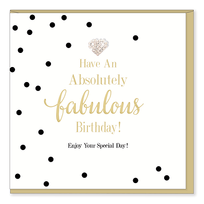 HEARTS DESIGNS Absolutely Fabulous Birthday