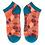 Thumbnail: Powder Trainer Socks Leaf in Tangerine