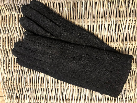 Textured Gloves - BLACK