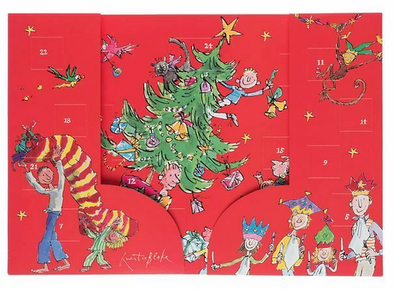 Christmas Tree Parade Advent Calendar