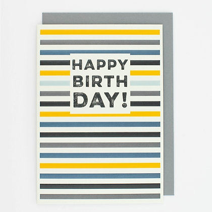 THINK OF ME - Rogue - Happy Birthday Stripe