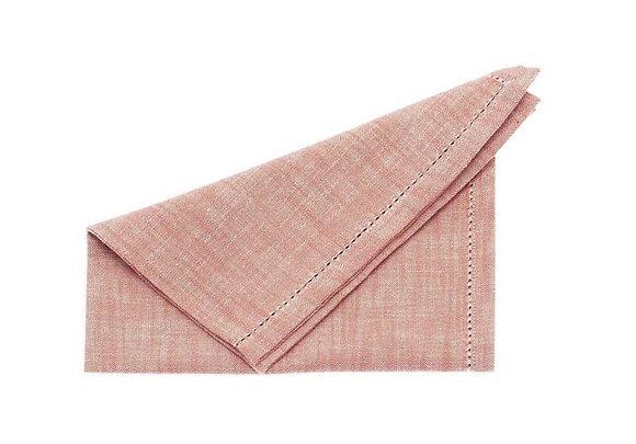 Cotton chambray napkins Set 4