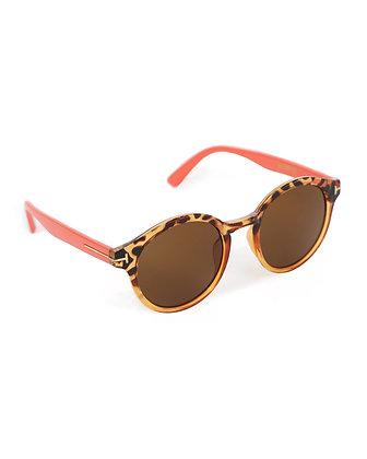 POWDER Erin Sunglasses in Coral