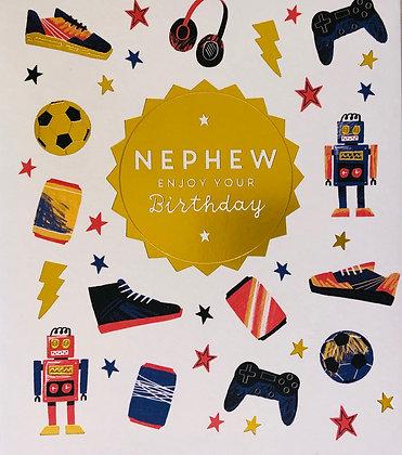 UK GREETINGS Nephew Enjoy Your Birthday