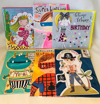 Kids Birthday Cards Bundle