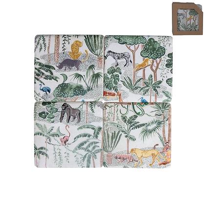 Gisela Graham Jungle Scene Coasters