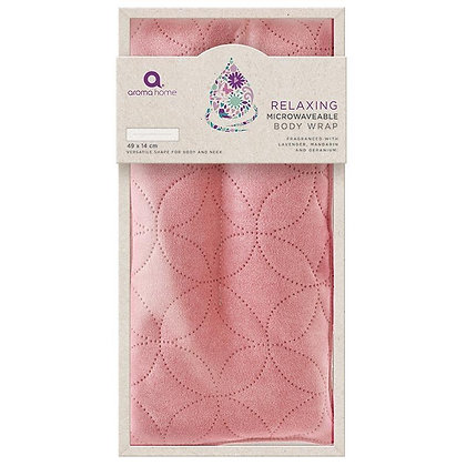 Essential Rose Microwavable Body Wrap