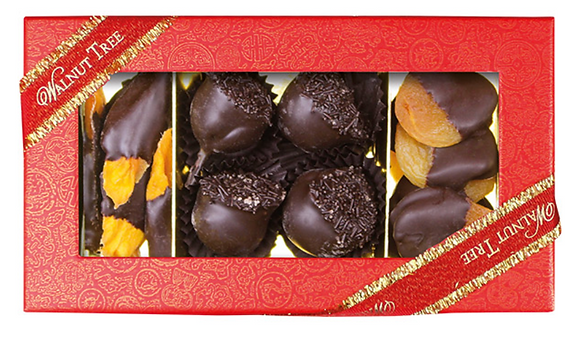 Cherry, Apricot and Mango Dipped in Chocolate
