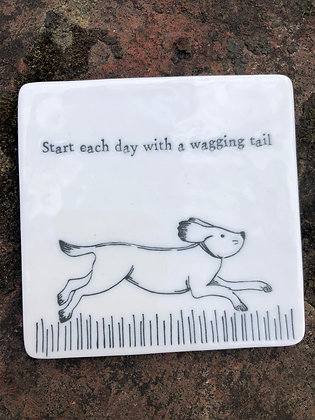 EAST OF INDIA Wagging Tail Coaster