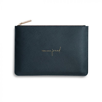 KATIE LOXTON PERFECT POUCH FABULOUS FRIEND in NAVY