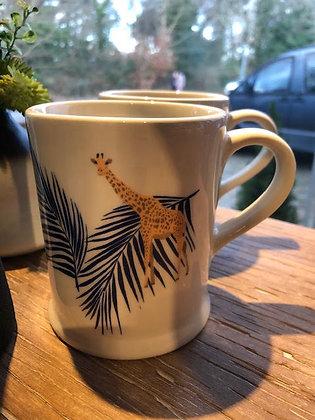 Fenella Smith Giraffe and Palm Mug