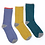 Thumbnail: Bamboo dotty ankle sock trio with gift box