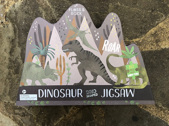 FLOSS & ROCK Dinosaur Jigsaw
