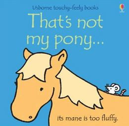 That's not my Pony touchy feely book