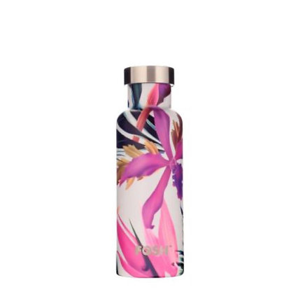 Stainless Steel Drink Bottle - TROPICAL GIFT BOXED