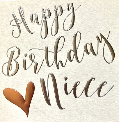 WENDY JONES-BLACKETT Happy Birthday Niece
