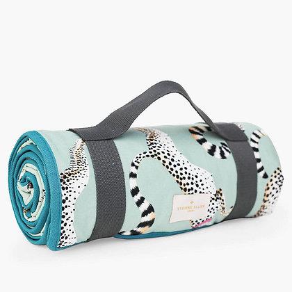YVONNE ELLEN Cheeky Cheetahs Picnic Blanket