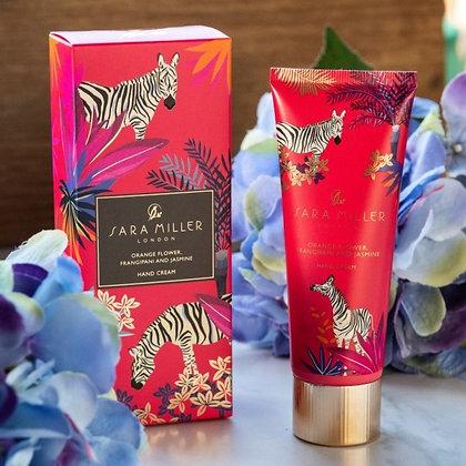 Sara Miller Orange Flower, Frangipani & Jasmine Hand Cream