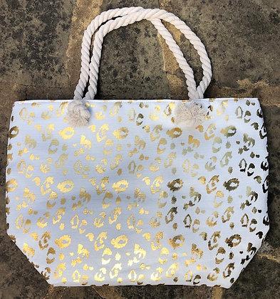 EQUILIBRIUM Gold Leoparde Tote Bag