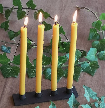 Simple Oblong Taper Candle Holder