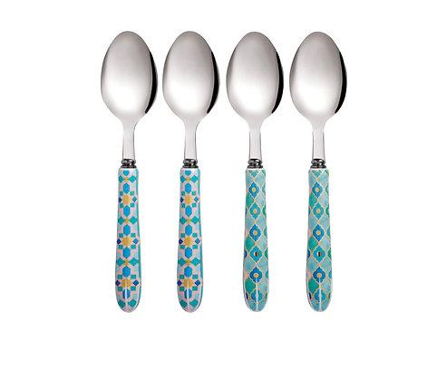 Kasbah style teaspoons Set 4