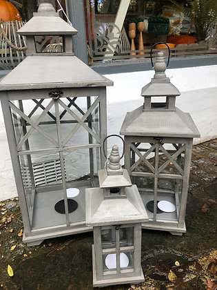 Grey Lantern Assorted Sizes from...