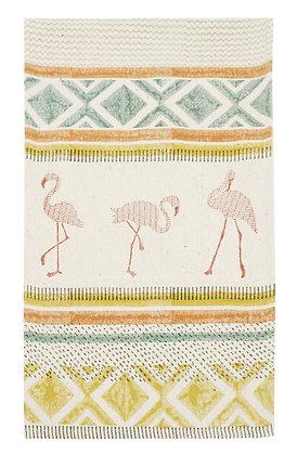 Table runner Flamingo design