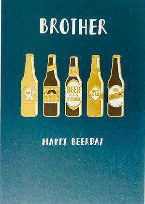 WOODMANSTERNE Brother Happy Beerday