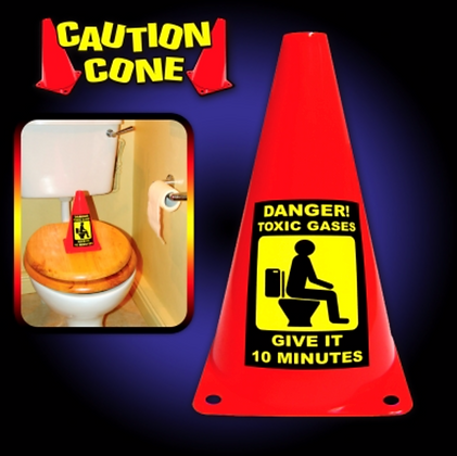 Caution Cone Toxic Gas