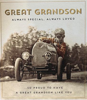 PIGMENT Great Grandson Always Special, Always Loved