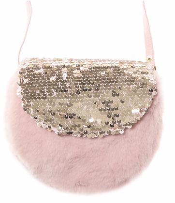 Rockahula - Shimmer Sequin Fur Bag