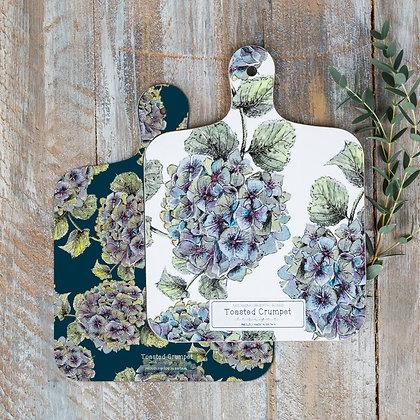 Hydrangea Mini Chopping Board