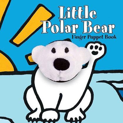 Little Polar Bear Finger Puppet Book