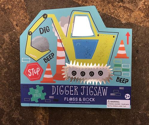 FLOSS & ROCK Digger Jigsaw