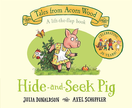 Hide and Seek Pig lift and flap book
