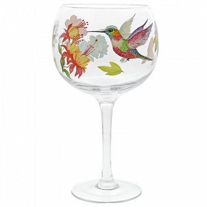ENESCO Gin Copa Glass- Hummingbird