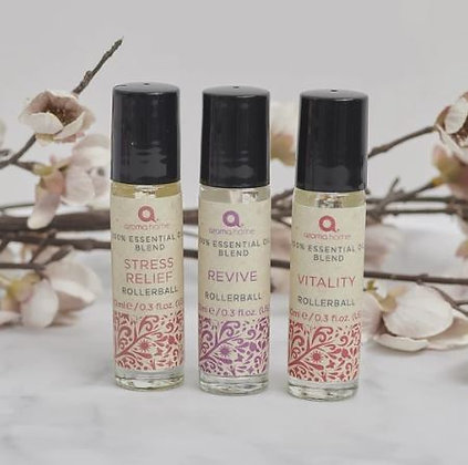 Aroma Home Mood Booster Rollerball Triple Pack