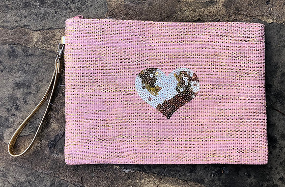 STRAITS Heart Bag - Pink