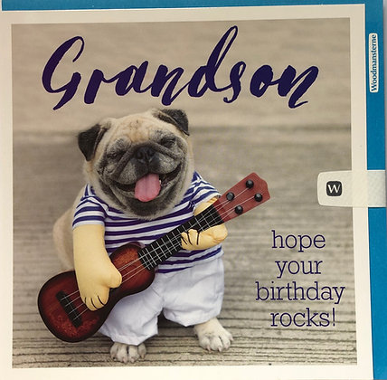 WOODMANSTERNE Grandson Hope Your Birthday Rocks!