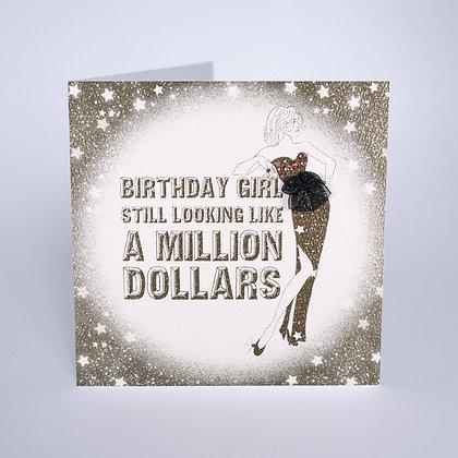 FIVE DOLLAR Birthday Still Looking Like A Million Dollars